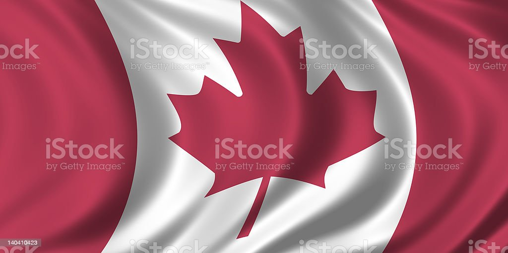 CANADA - CANADIAN FLAG royalty-free stock photo