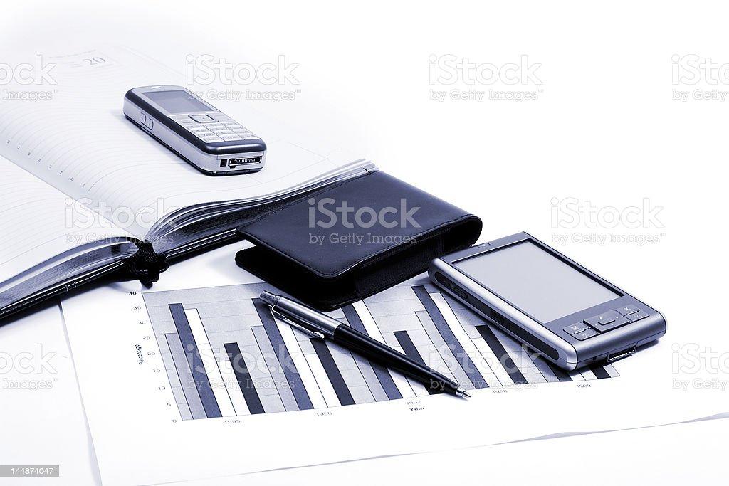 PDA royalty-free stock photo