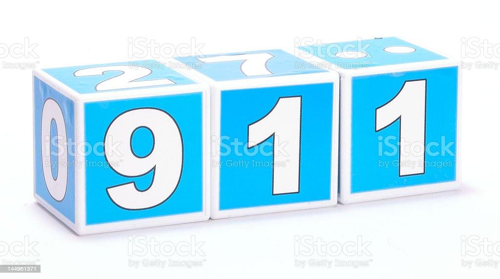 911 royalty-free stock photo