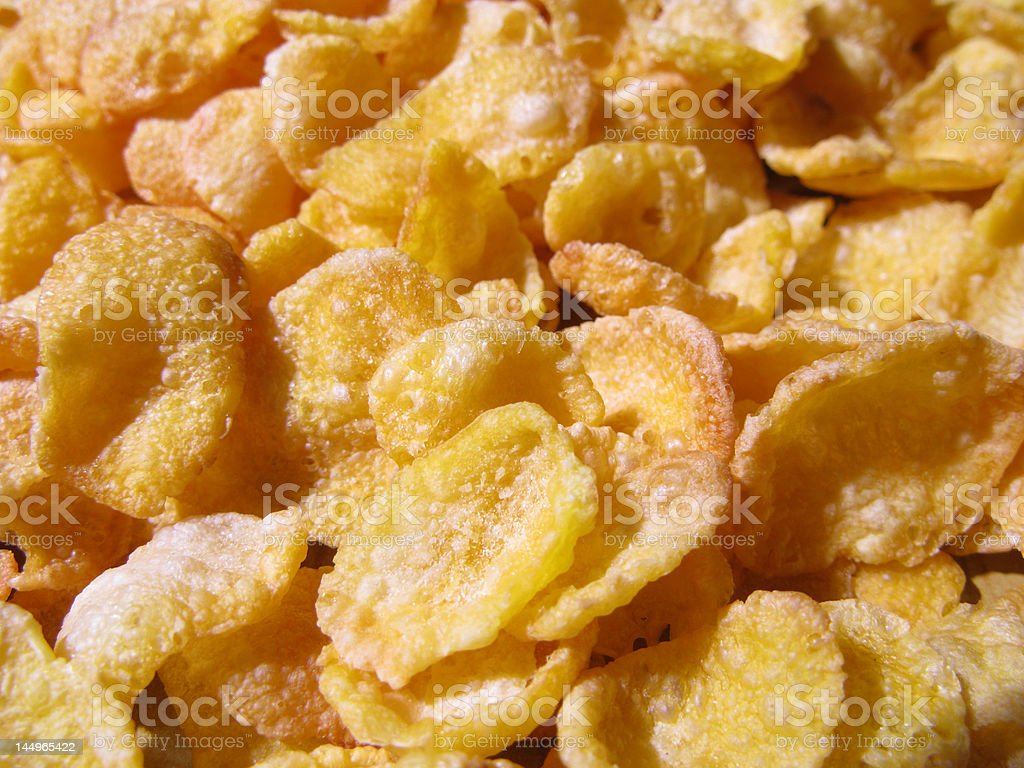 DELICIOUS CEREAL royalty-free stock photo