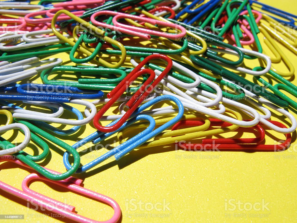 COLOURS CLIPS royalty-free stock photo