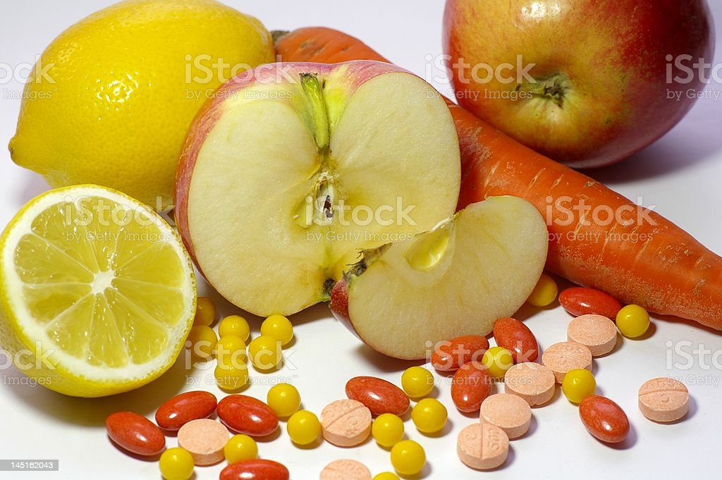 Витамины royalty-free stock photo