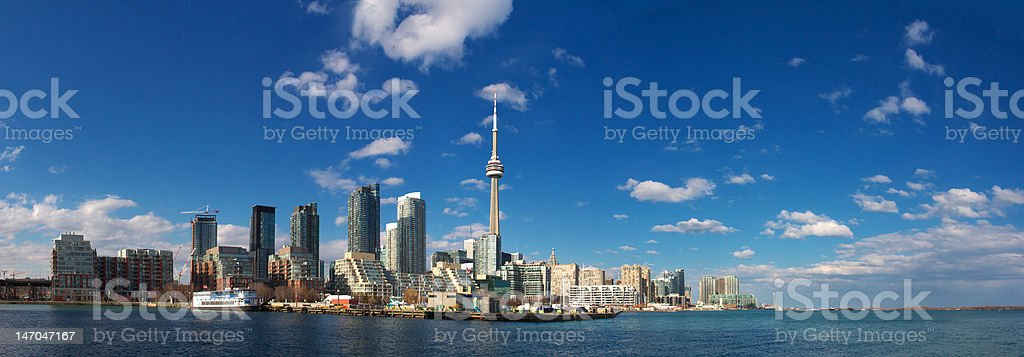 CN TOWER, TORONTO, ON CANADA royalty-free stock photo