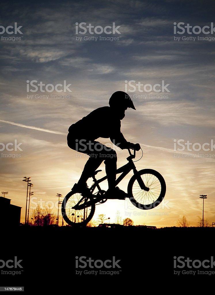 BMX royalty-free stock photo