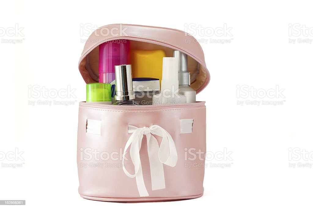 COSMETICS BAGS royalty-free stock photo