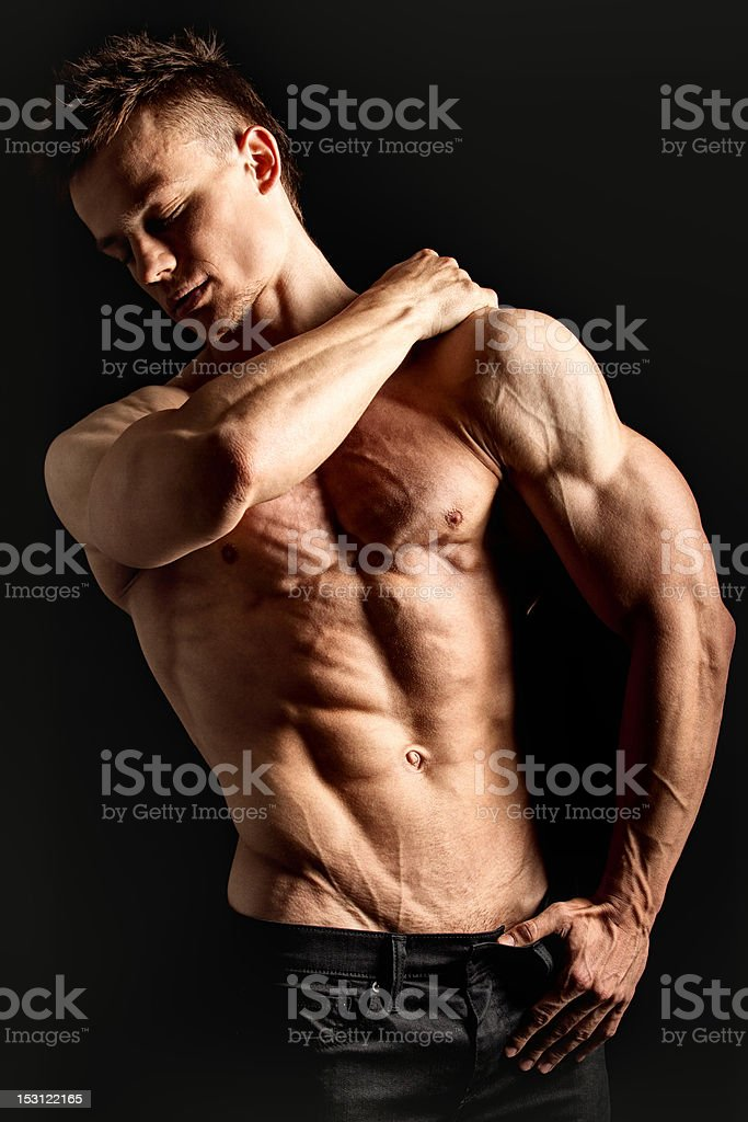 PAIN stock photo