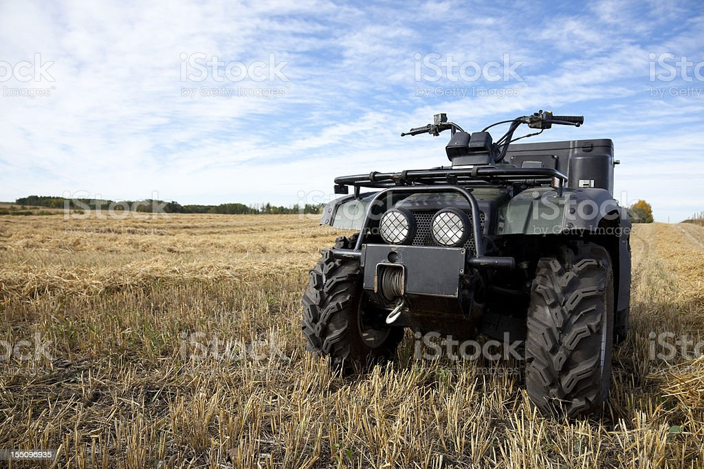 ATV royalty-free stock photo