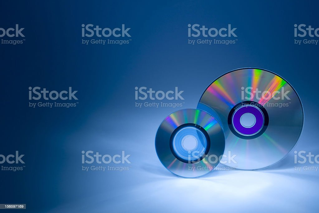CD, DVD royalty-free stock photo
