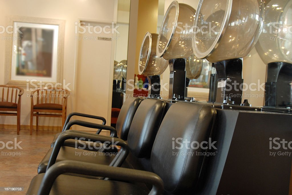THE SALON royalty-free stock photo