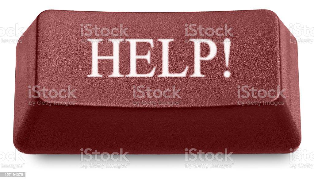 HELP! royalty-free stock photo