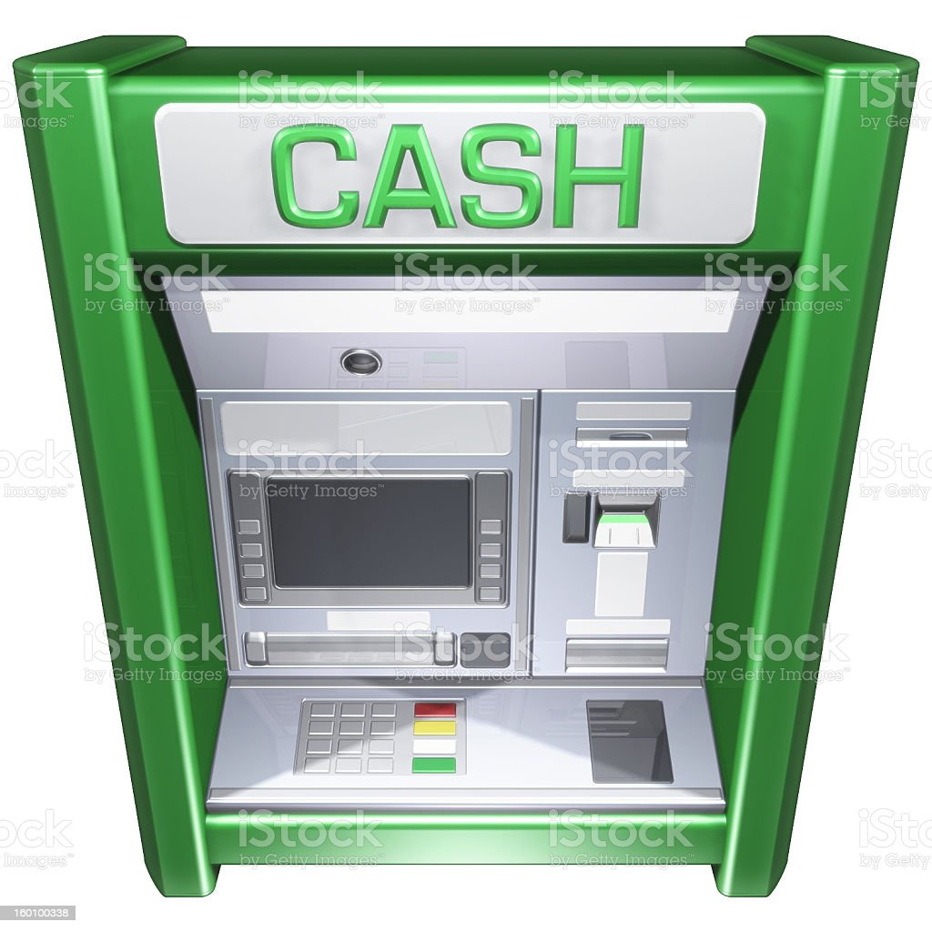 ATM01 royalty-free stock photo