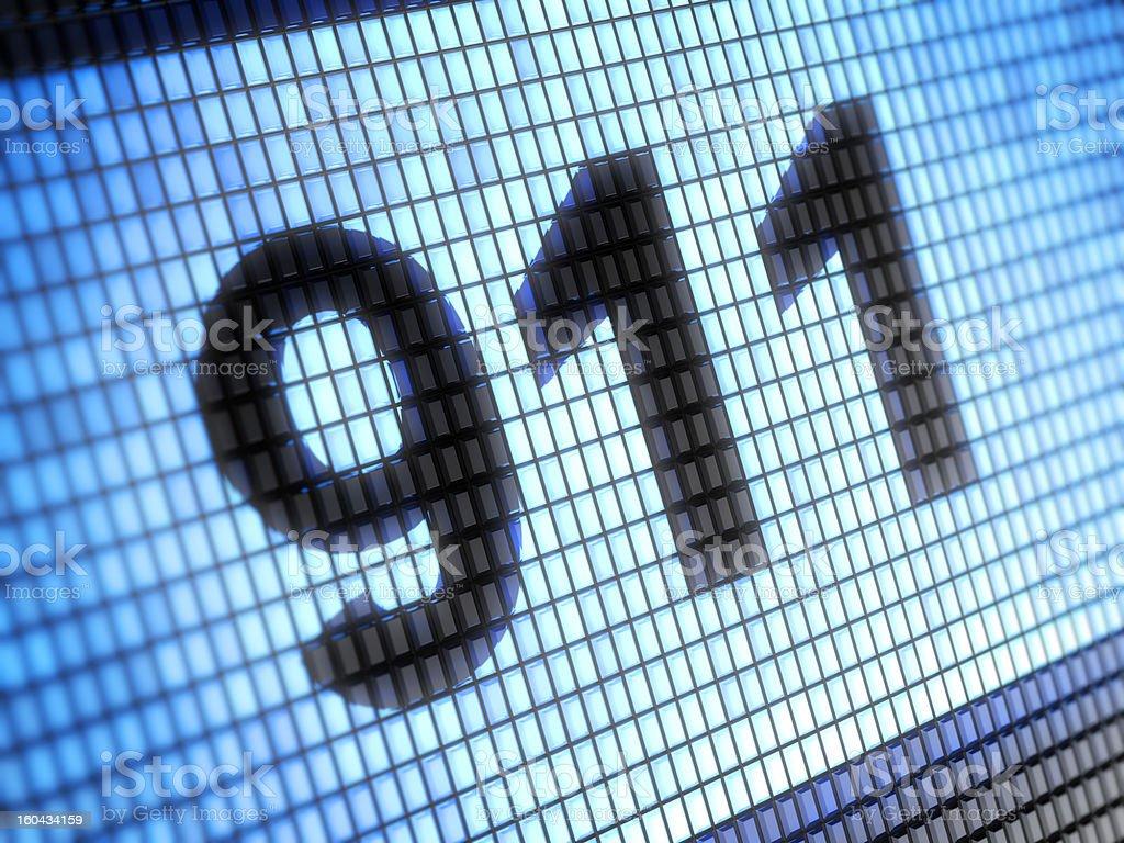 911 stock photo
