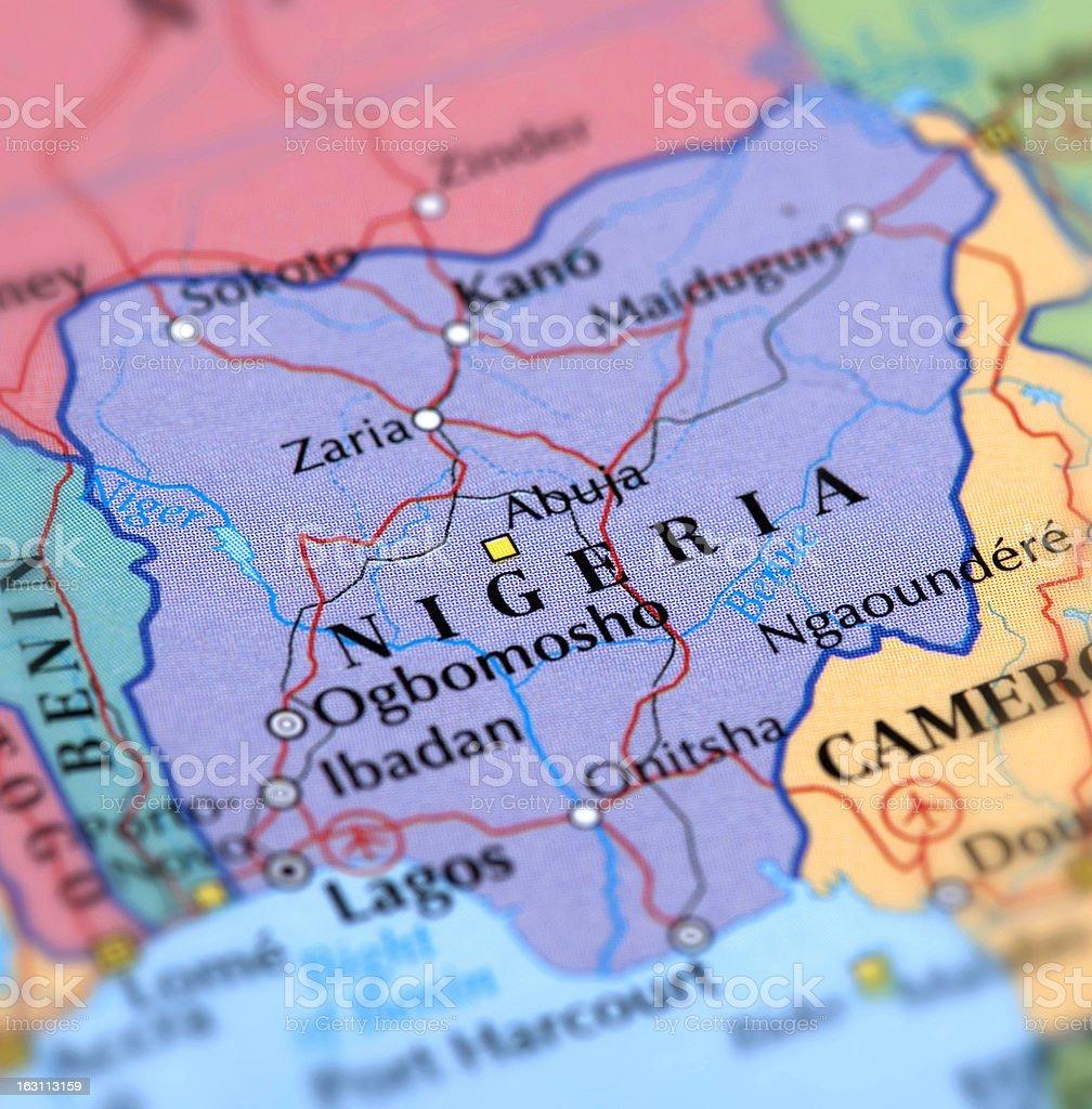 NIGERIA royalty-free stock photo