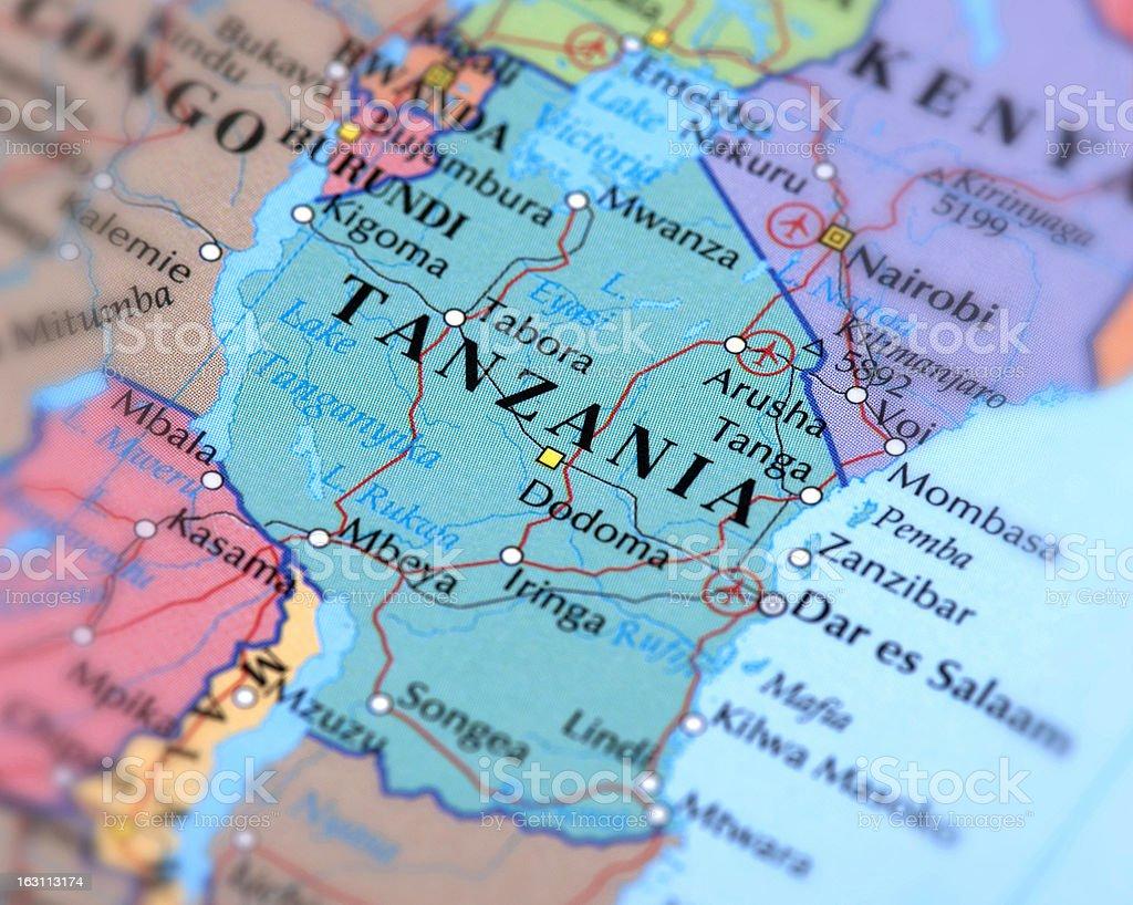 TANZANIA royalty-free stock photo