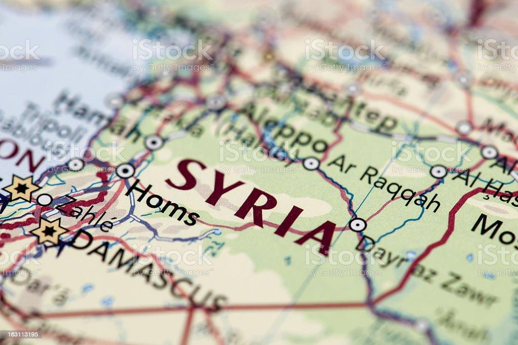 SYRIA royalty-free stock photo