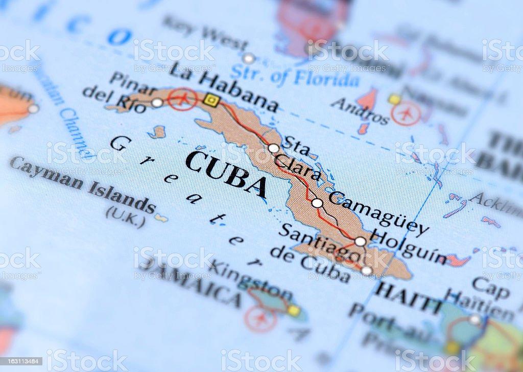 CUBA royalty-free stock photo