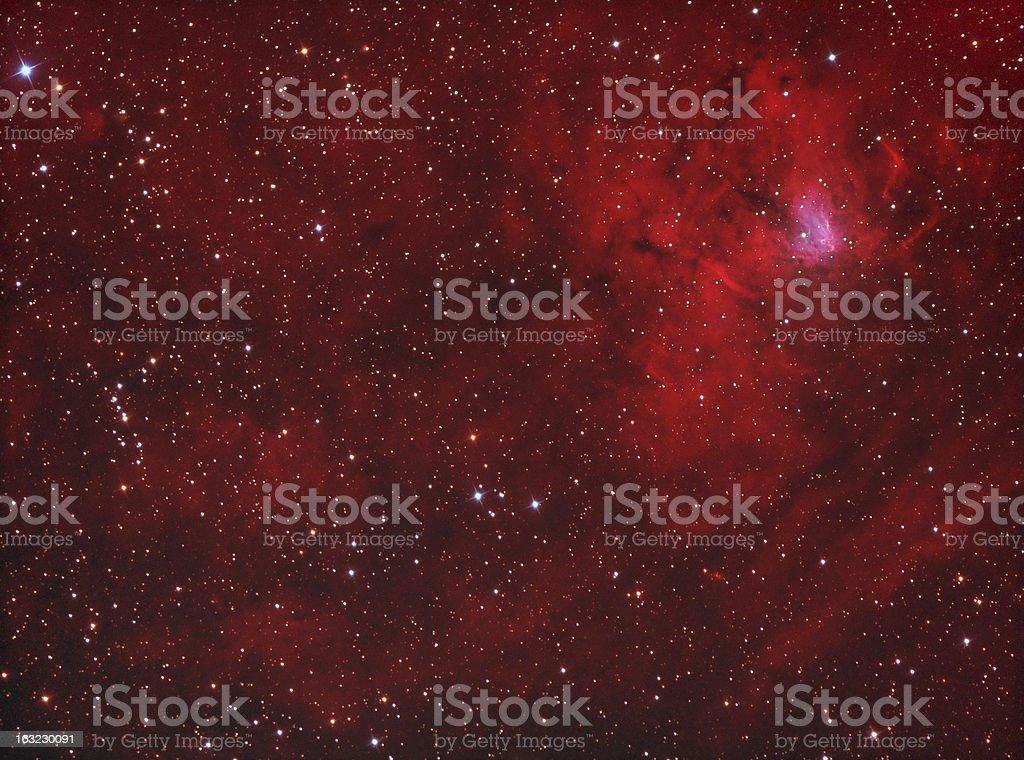 NGC1491 royalty-free stock photo