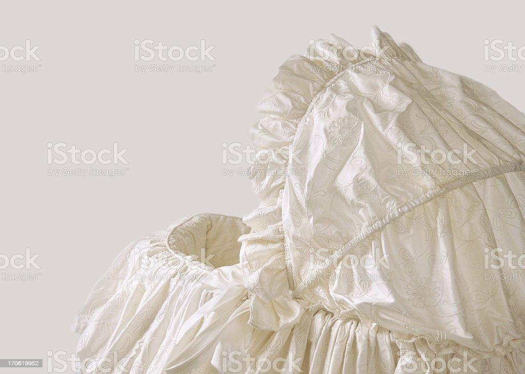 BASSINET royalty-free stock photo