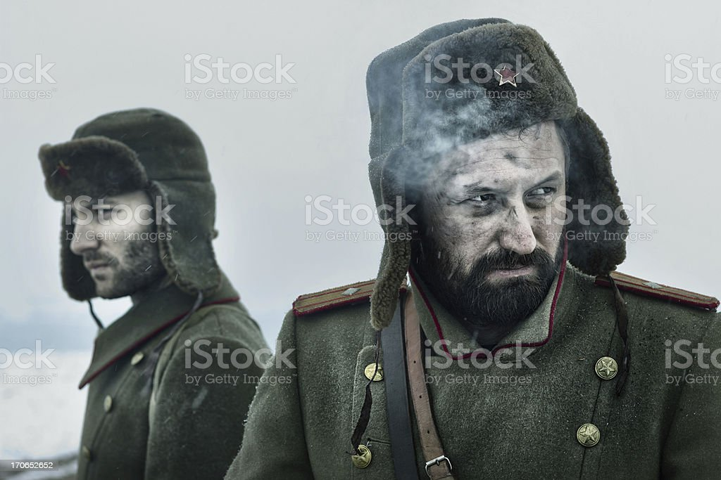 WWII royalty-free stock photo