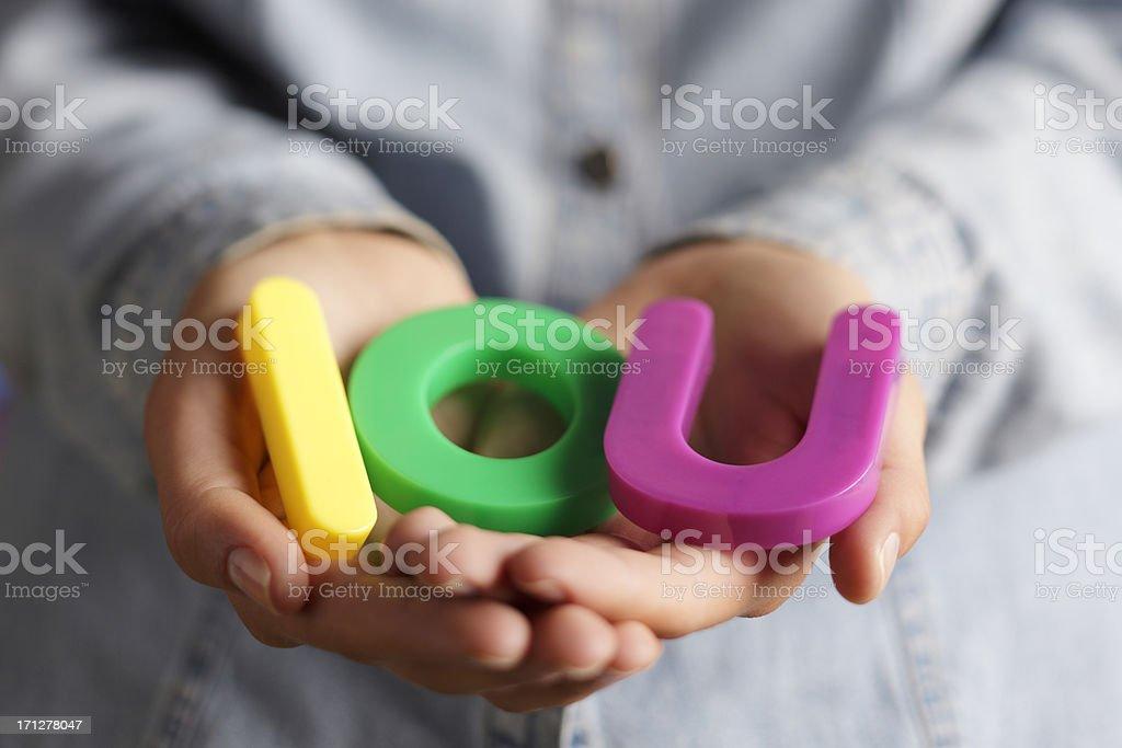 IOU stock photo