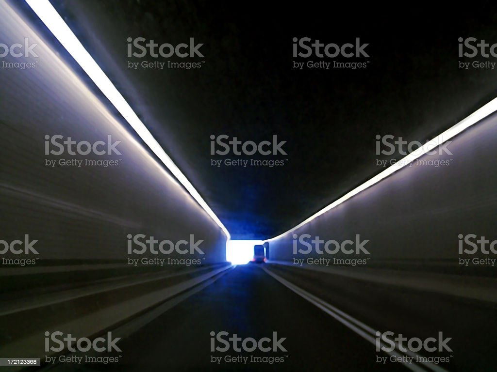 TV (Tunnel Vision) stock photo