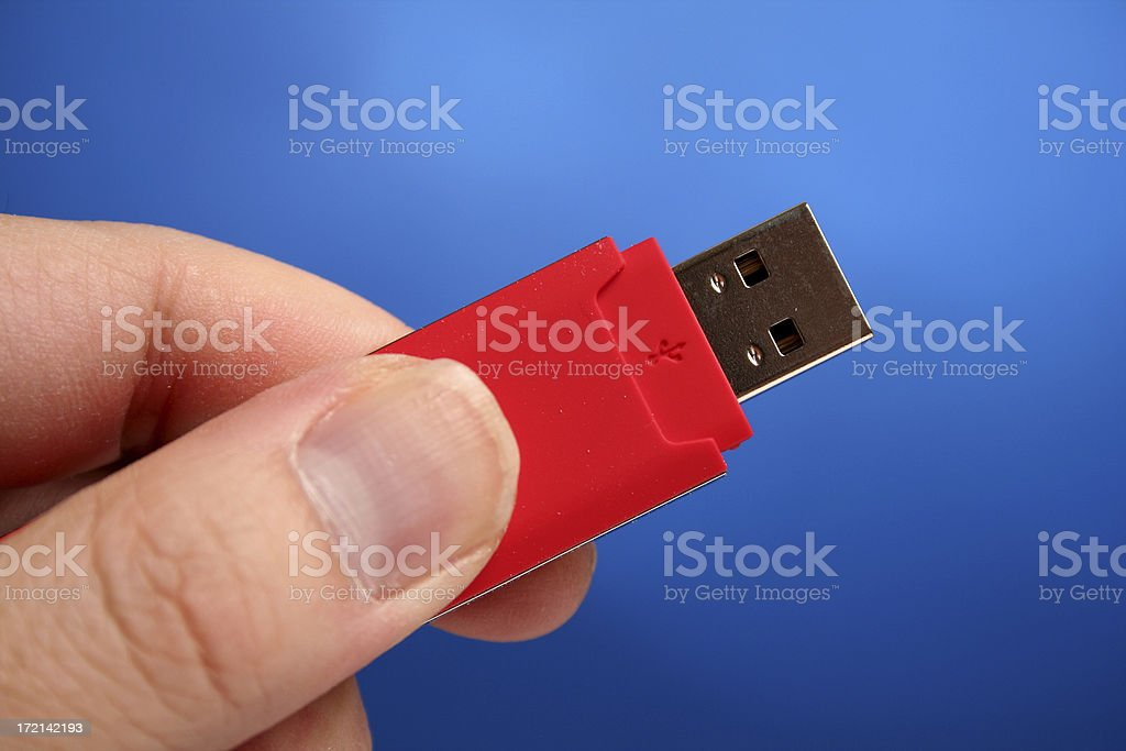 USB royalty-free stock photo