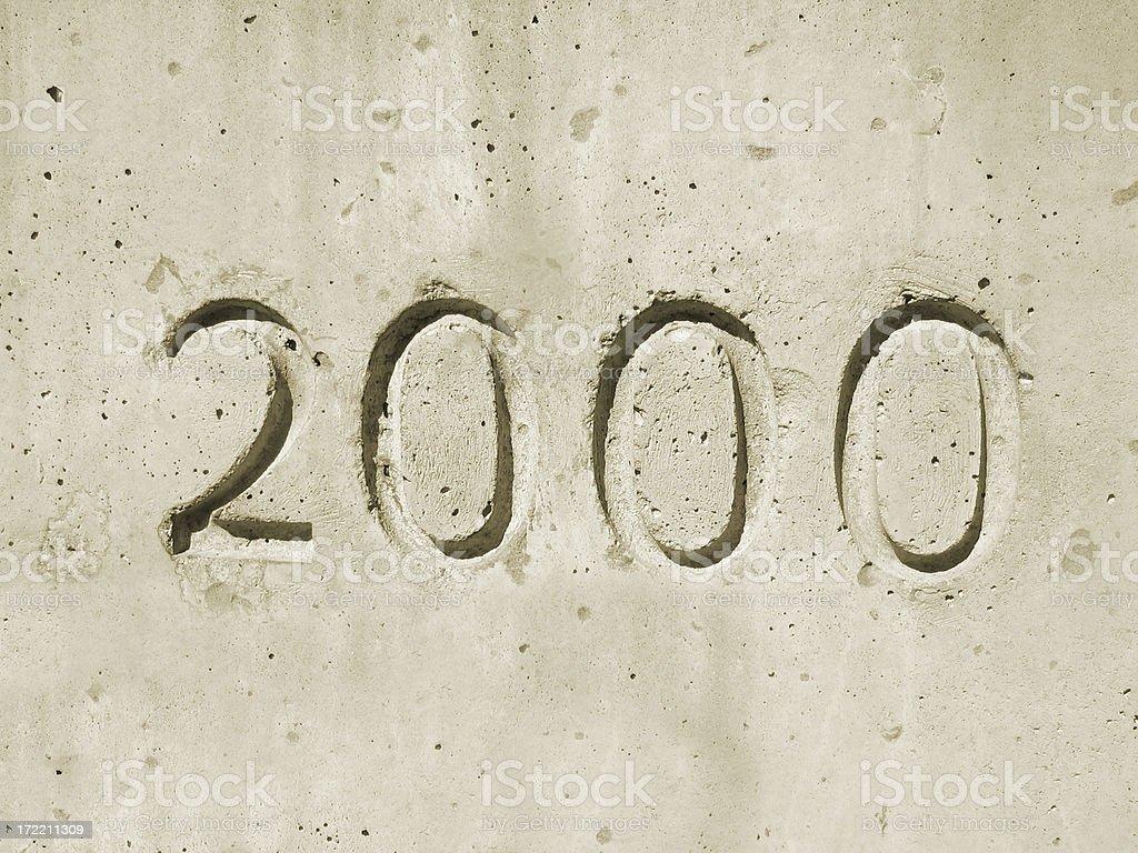 2000 stock photo