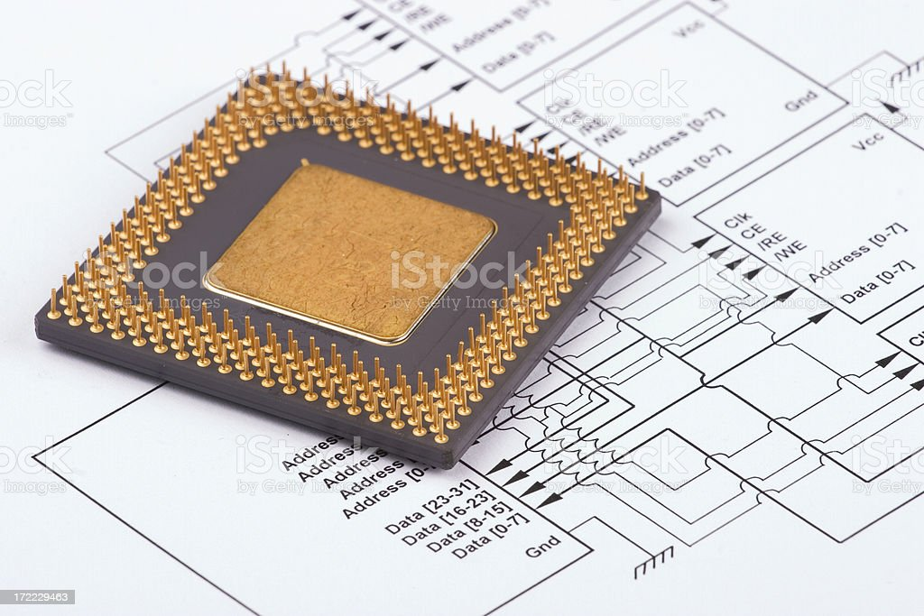 CPU #3 royalty-free stock photo