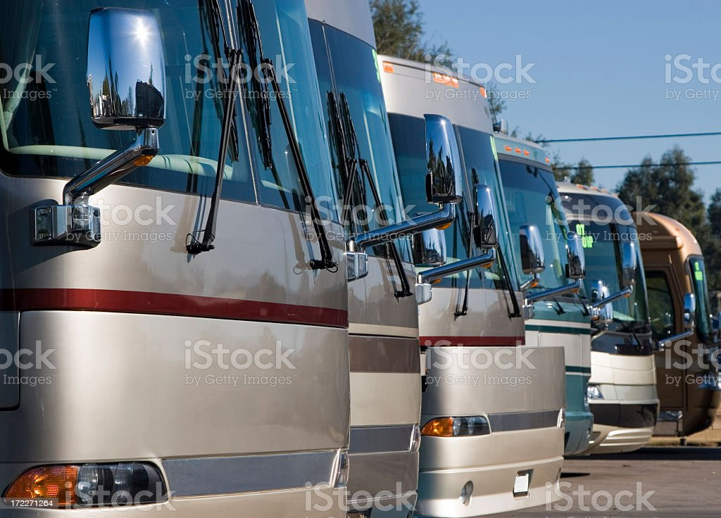 RV DEALERSHIP royalty-free stock photo