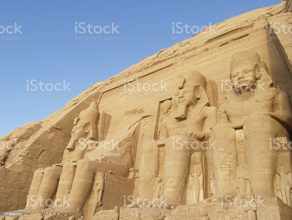 ABU SIMBEL 4 royalty-free stock photo