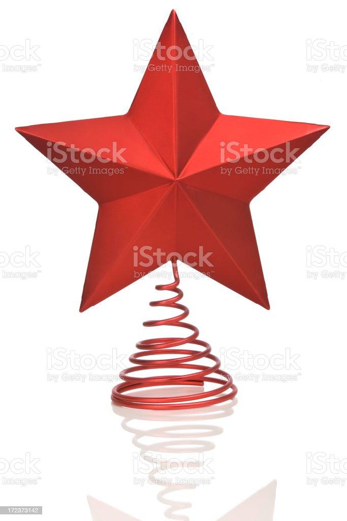 CHRISTMAS STAR (vertical) stock photo