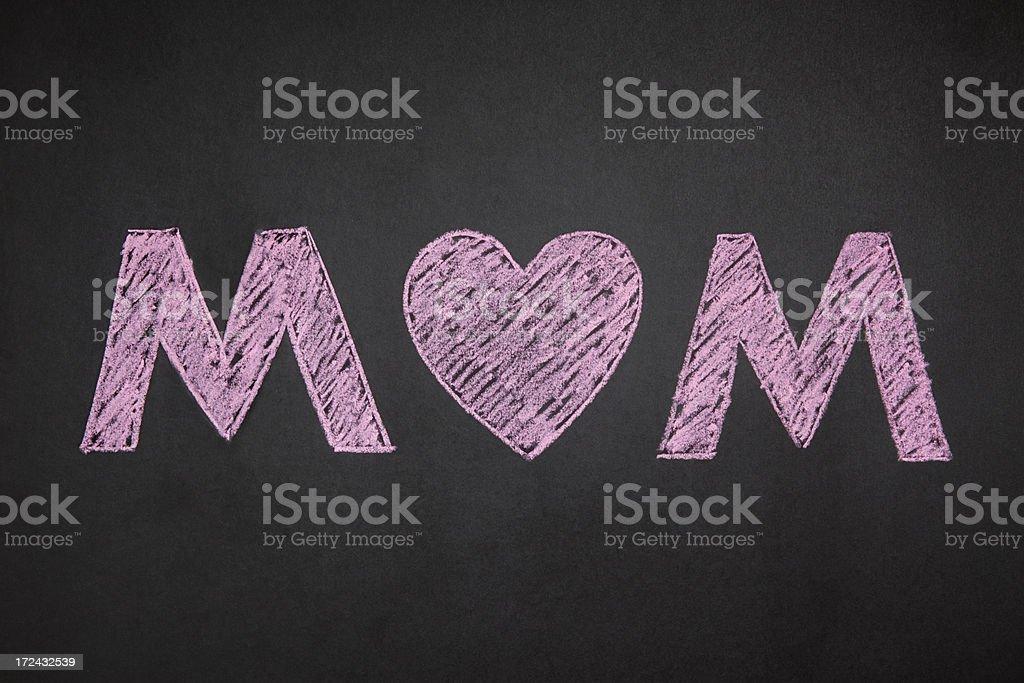 MOM royalty-free stock photo