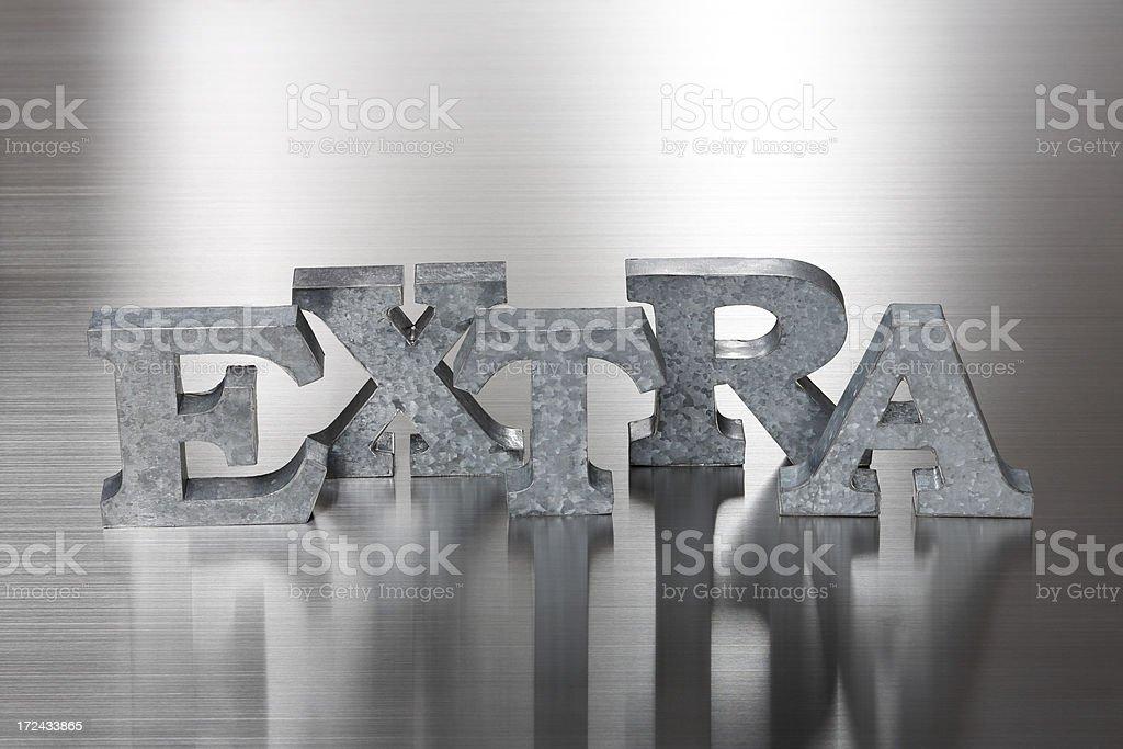 EXTRA royalty-free stock photo