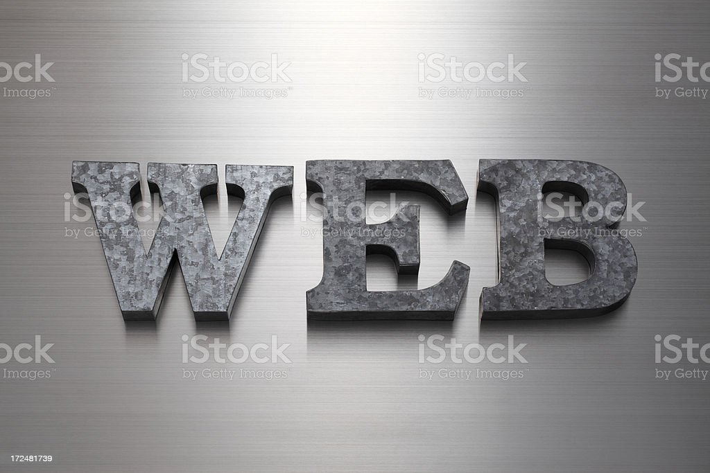 WEB royalty-free stock photo