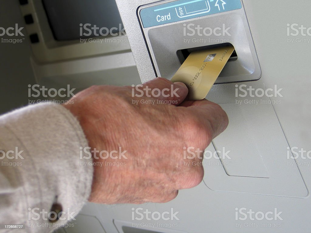 ATM 3 royalty-free stock photo
