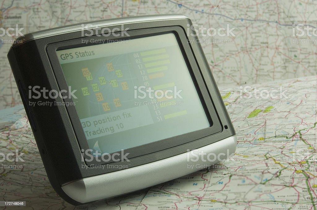 GPS royalty-free stock photo