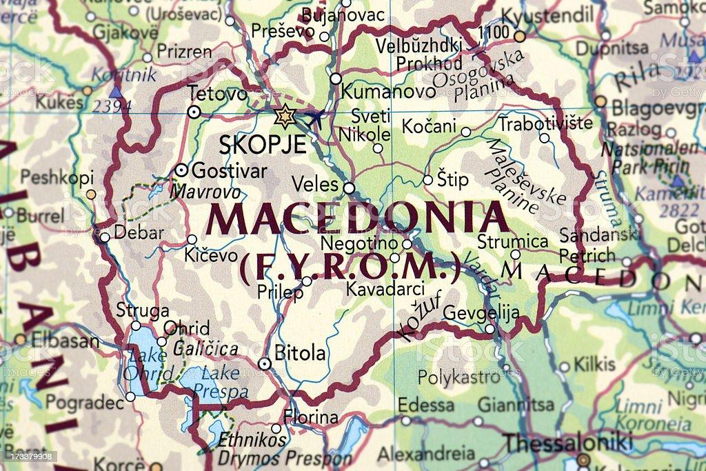 MACEDONIA, F.Y.R.O.M. royalty-free stock photo