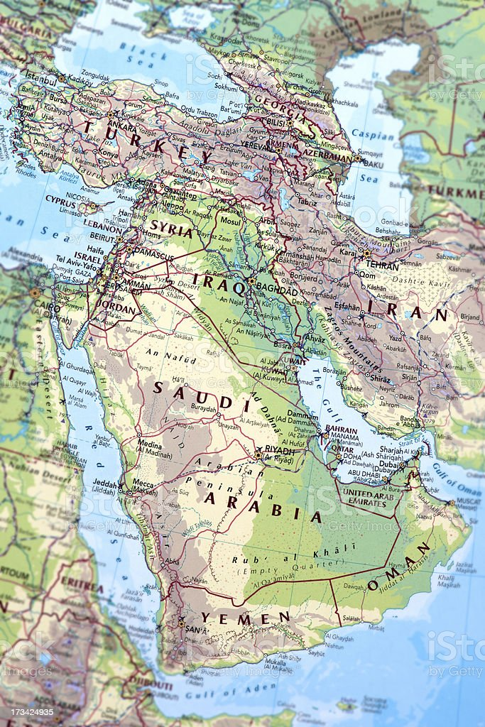 MIDDLE EAST stock photo