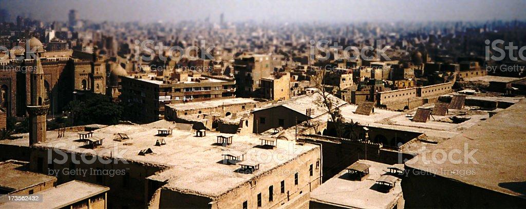 ARABIC CITY royalty-free stock photo