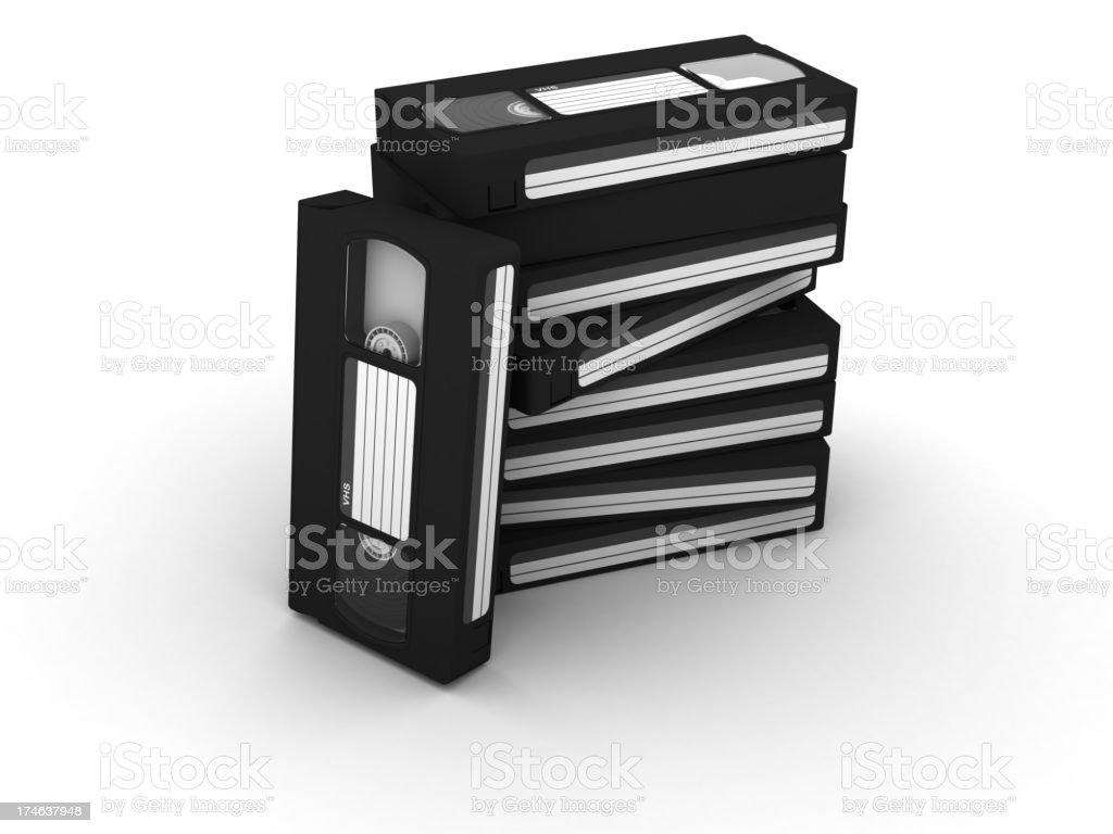 VHS stock photo