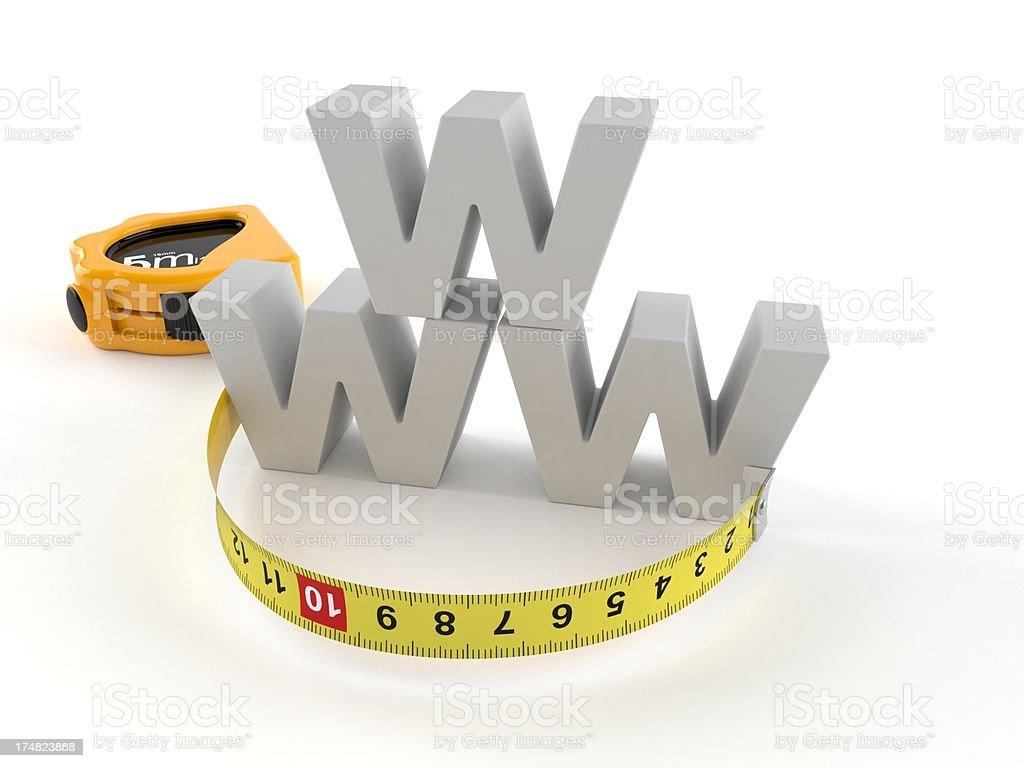 WWW royalty-free stock photo