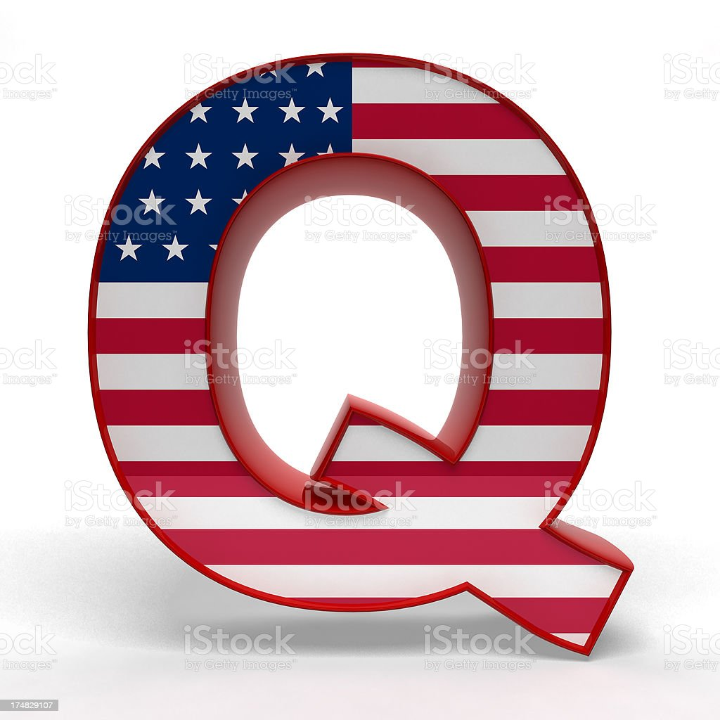 Q royalty-free stock photo