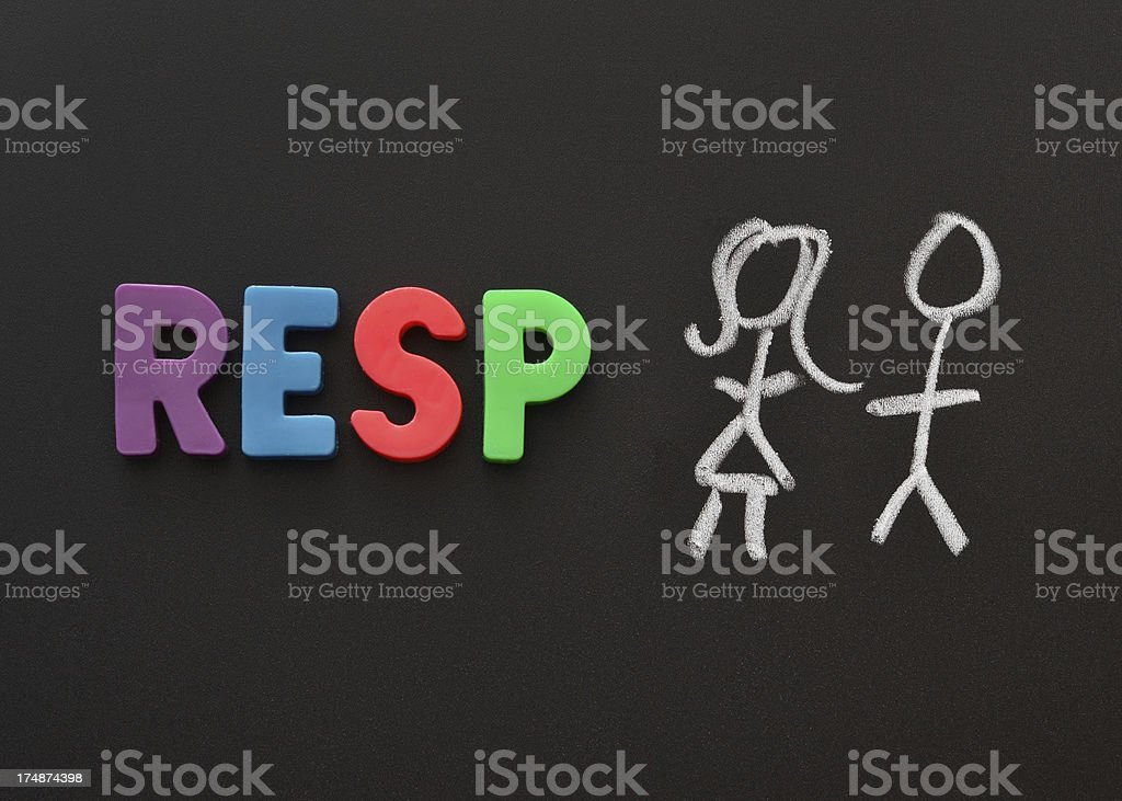 RESP royalty-free stock photo