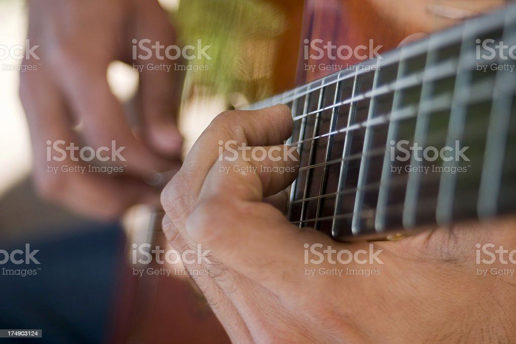 ACOUSTIC GUITAR 3 royalty-free stock photo