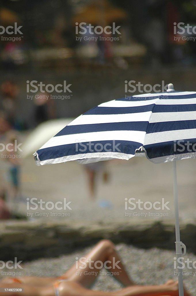 HOLIDAY SUNBATHERS royalty-free stock photo