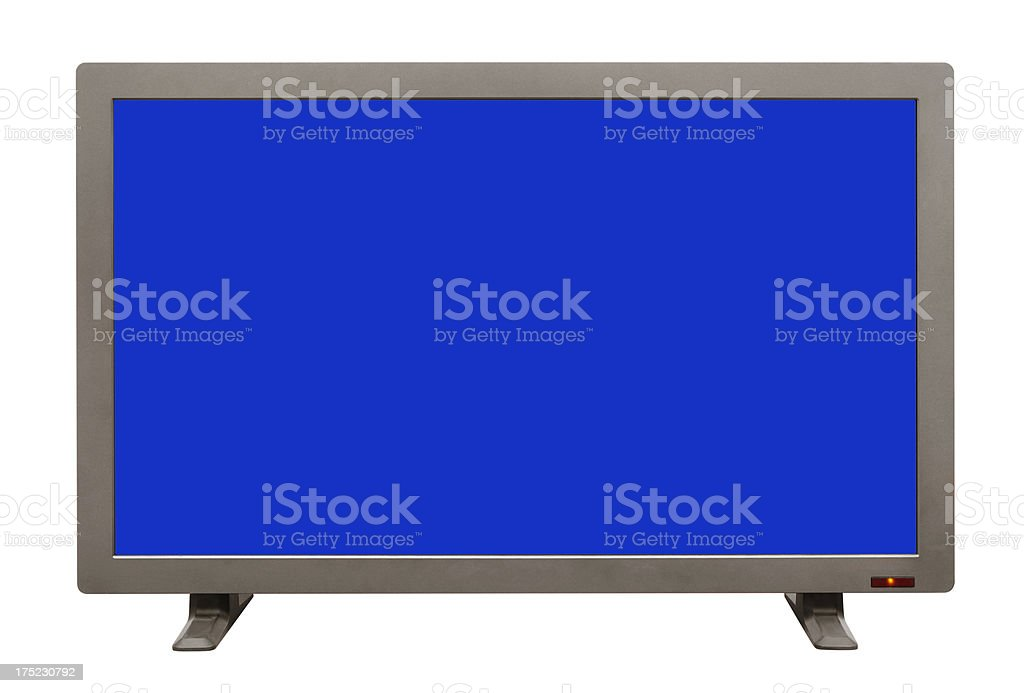 LED TV royalty-free stock photo