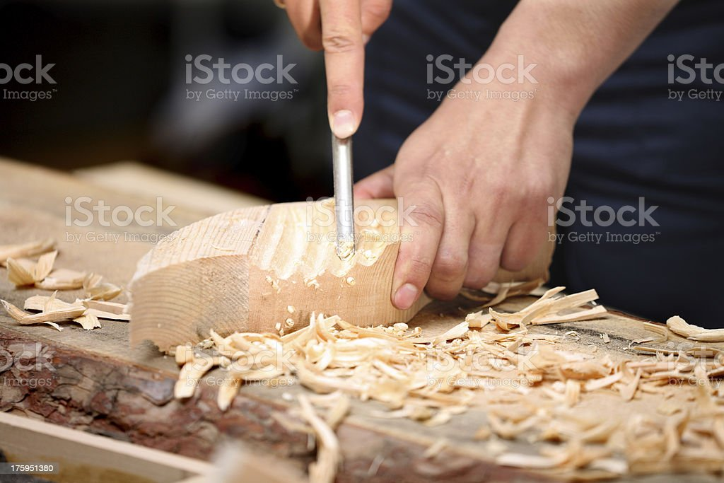 OLD MASTER JOINER stock photo