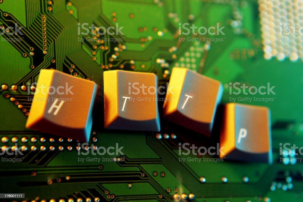 HTTP... stock photo