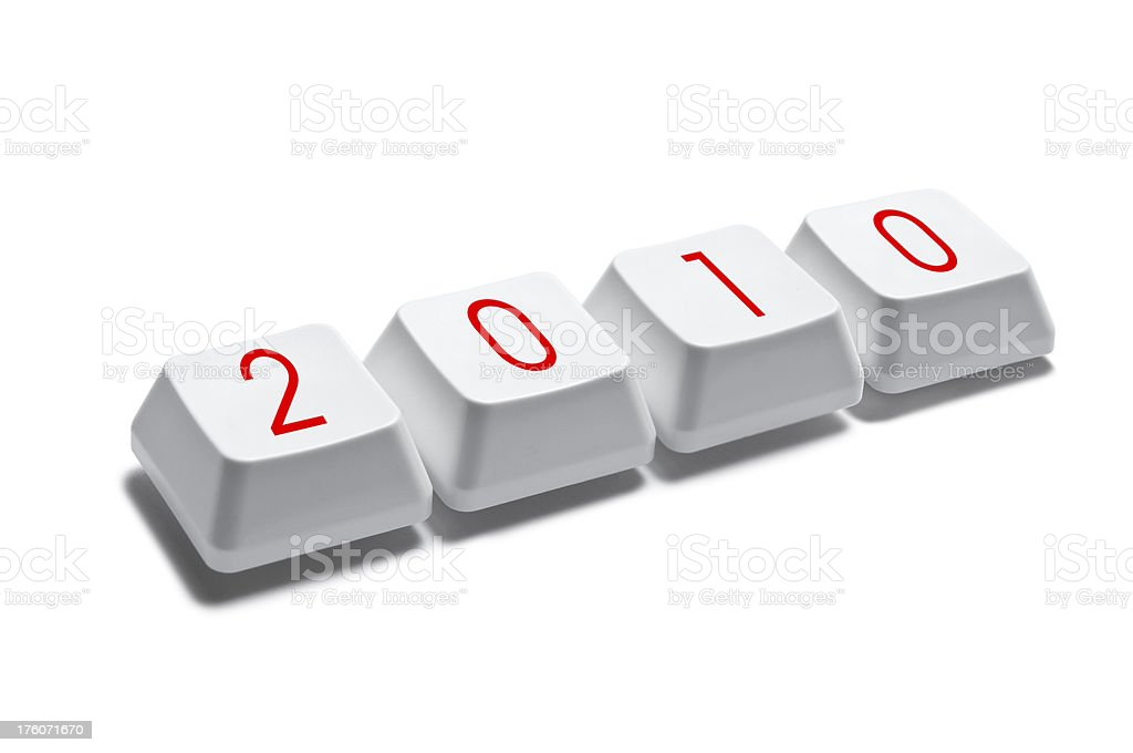 2010 royalty-free stock photo