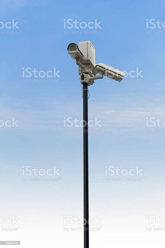 CCTV royalty-free stock photo